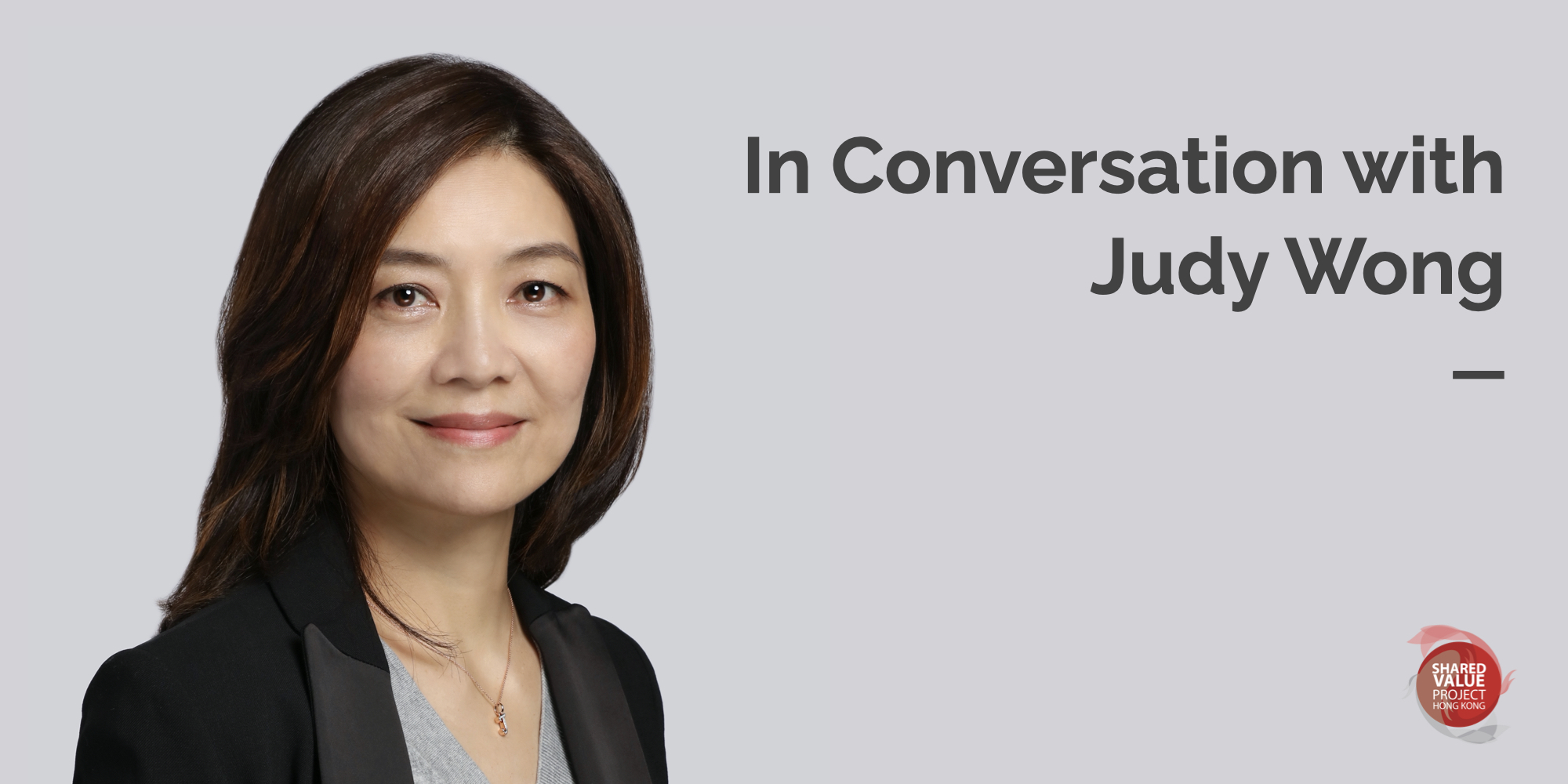 In Conversation with Judy Wong