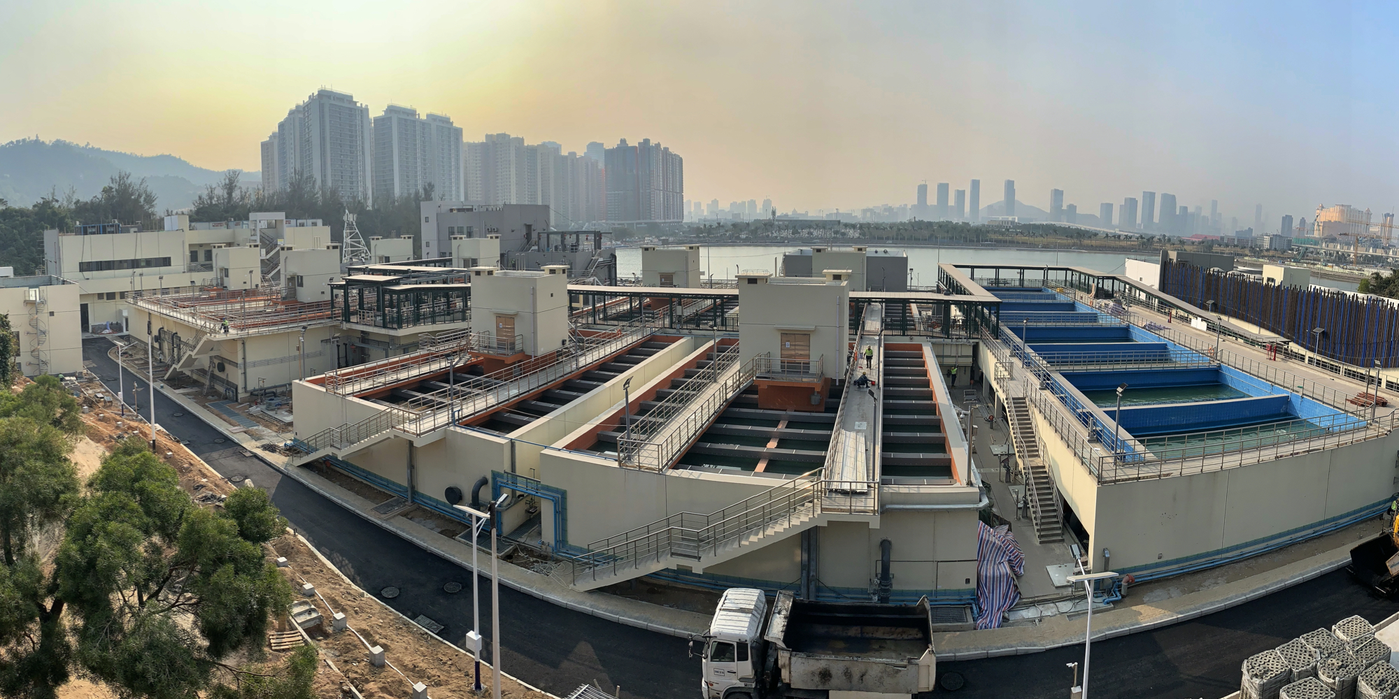 Macao Water - Seac Pai Van Water Treatment Plant